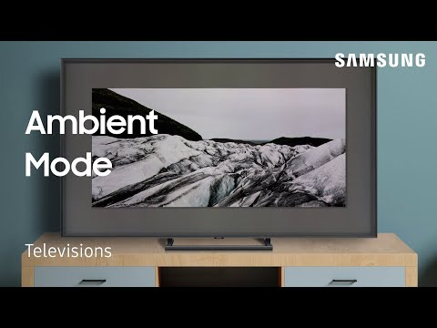 Use Ambient Mode on your TV
