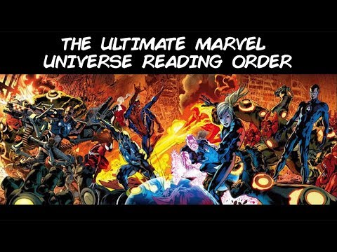 Ultimate Marvel Comics Reading Order feat. All the Cover Art [Part 1 of 2]