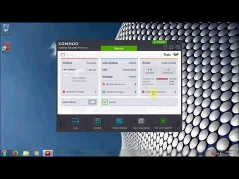 How to configure Comodo Internet Security