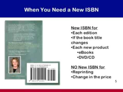 How to Get an ISBN Number
