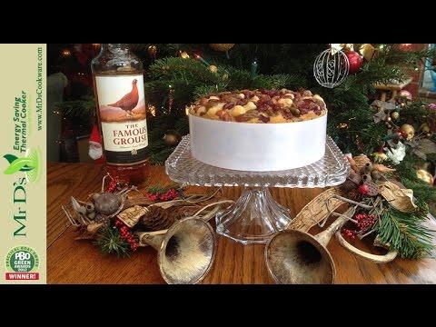 Delia's Festive Dundee cake Recipe - How to make Delia's Festive Dundee cake