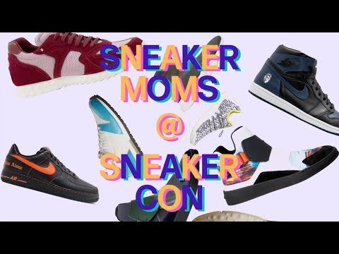 Asked and Answered: Moms at Sneaker Con