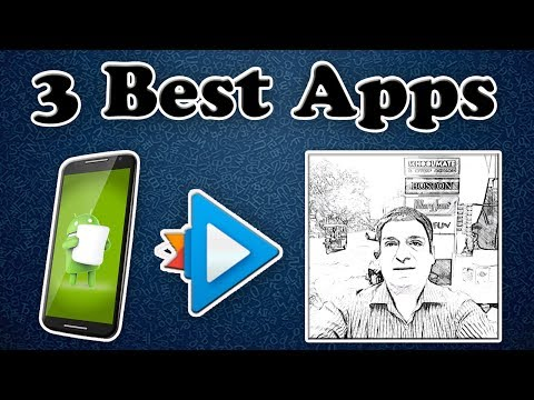How to make sketch of yourself on android phone | Top 3 apps