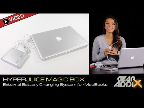 HyperJuice Magic Box, External Battery Charging System for MacBook Pro & MacBook Air