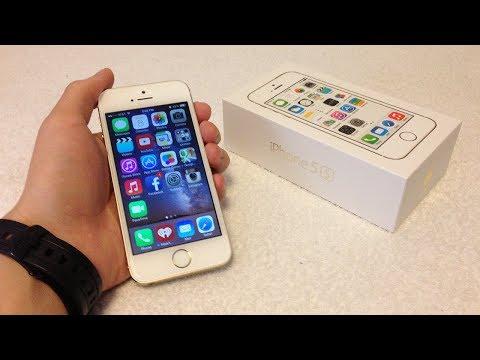 Apple iPhone 5S 16GB Factory Unlocked Smartphone Gold
