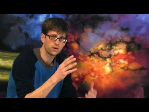 Painting An Outer Space Galaxy Scene - PART 2