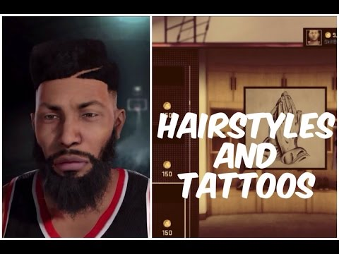 NBA 2K16 - Hairstyles And Tattoos