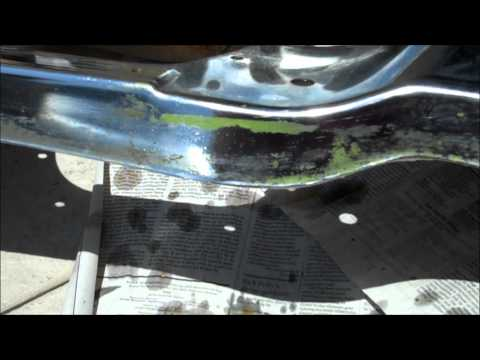 How To Take Rust and Paint Off Chrome