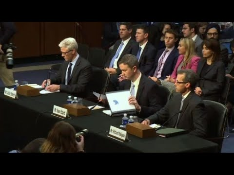 Russia probe: Facebook, Twitter and Google go before Congress