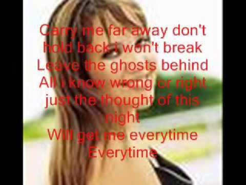 Everytime Jessica Andrews Lyrics