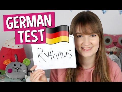 Spelling Test: 10 Tough German Words
