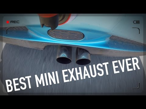 New MINI Exhaust sounds AMAZING!! R53 Straight Pipe