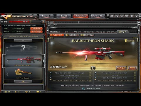 CrossFire VN - Obtaining Ngọc Trinh & Barrett Iron Shark