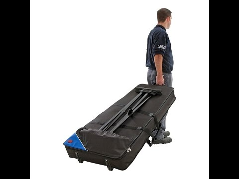The problem with piano/keyboard cases or gig bags with wheels