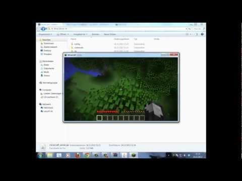 Tutorial  - Minecraft Forge Mod - Installation auf Vanilla Server [keegan] [HD] [Deutsch/German]