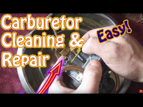 How to Disassemble and Clean a Mikuni Carburetor - DIY Snowmobile, Mower, ATV Carburetor Repair