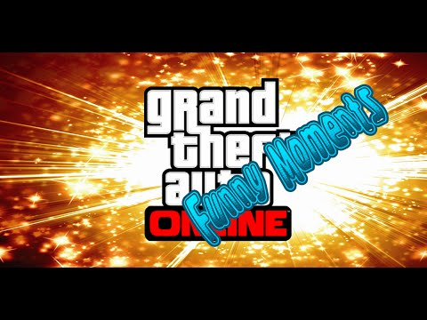 Grand Theft Auto Online Funny Moments - Heists Edition