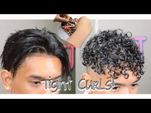 How To Get Curly Hair?! Tight Curls/Perm!