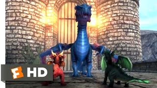 Pixy Dragons (2018) - The Big Bad Lacerta Scene (1/3) | Movieclips