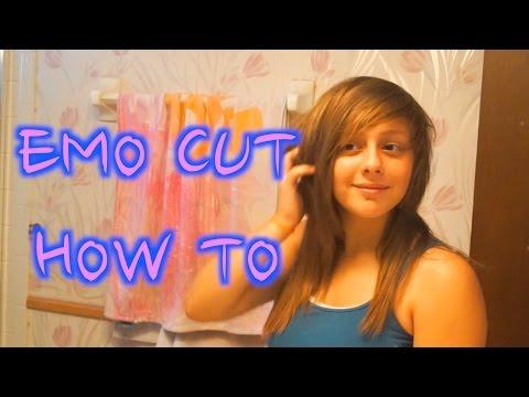 HOMEMADE EMO SCENE HAIRCUT (how to)