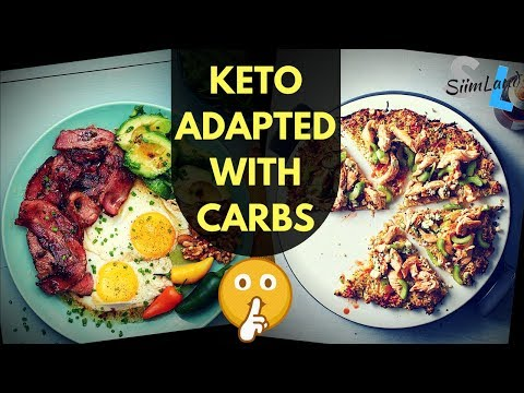 How to Stay Keto Adapted While Eating Carbs