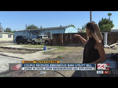 Couple get large utility bill after home is destroyed