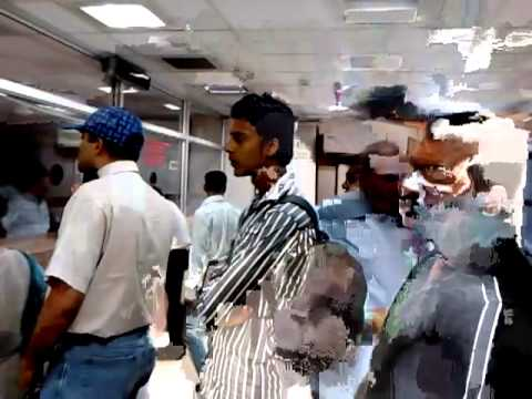 Working condition of Thane passport office