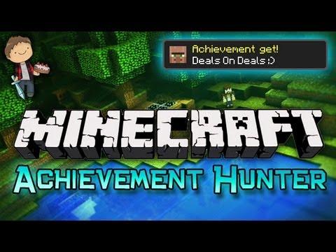 Minecraft: Achievement Hunter Challenge w/Mitch & Mat Part 1 - Deals On Deals!