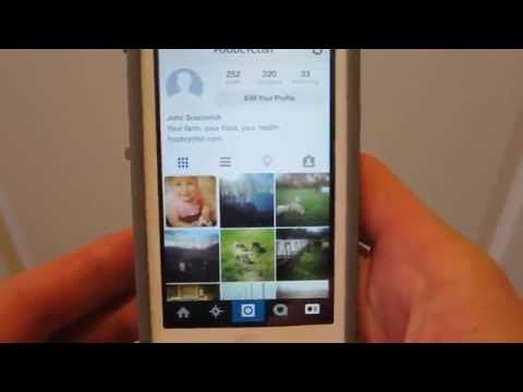 How to link to facebook from the instagram app (Farm Sales Day 57)