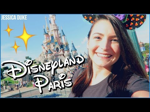 DISNEYLAND PARIS!! [London & Paris 2017] | Jessica Duke