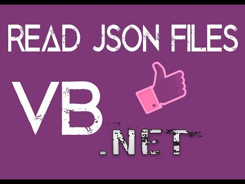 VB.NET : JSON Serialization and Deserialization