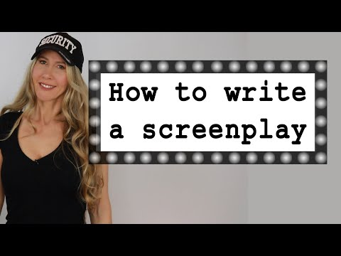 How to write a screenplay 2018 - scriptwriting for beginners