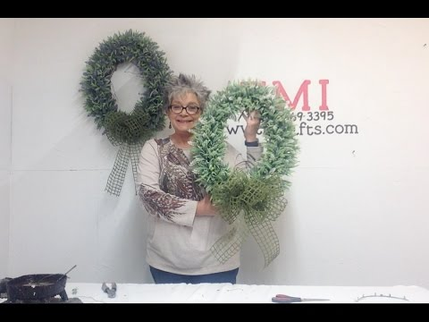 How to Make a Lavender Ball Wreath