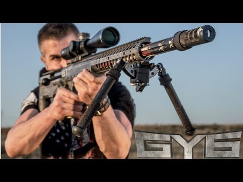Desert Tech HTI .50 BMG Rifle [ Full Review ] - Most Accurate 50cal Ever?