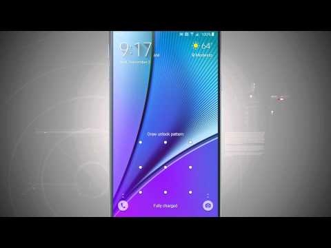 Customize the Lock Screen on the Samsung Galaxy Note 5