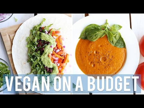 COOKING VEGAN ON A BUDGET | FREE GIFT