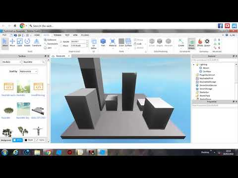 How to make A CutScene on Roblox Studio -2018-