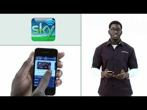 Sky Go app - Appys 2012 nominee