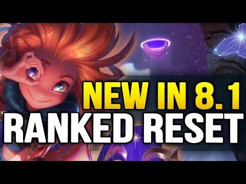 New in Patch 8.1 RANKED RESET and everything you need to know (League of legends)