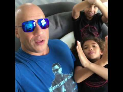 Xxx Mp4 Vin Diesel Playing With Kids Amp See How They Are Promoting XXX 3gp Sex