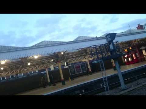 Epic train at Nottingham station