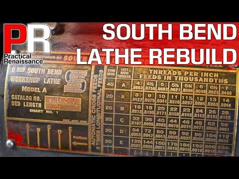 1940's South Bend 9A Lathe RESTORE