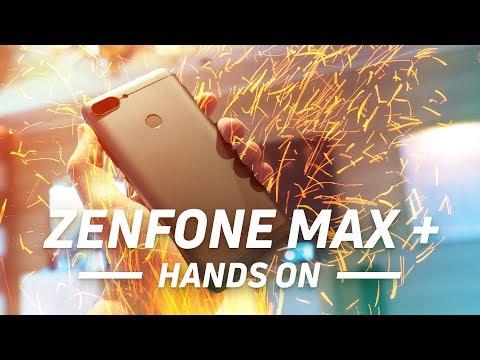 Asus ZenFone Max Plus Hands-on