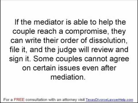 Texas Family Law: Filing a Divorce Suit Part 3