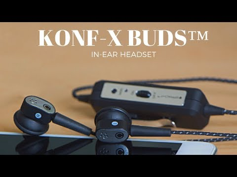 KONF-X BUDS™ IN-EAR HEADSET Noise Cancelling In-Ear Conference Call Headset - Kara