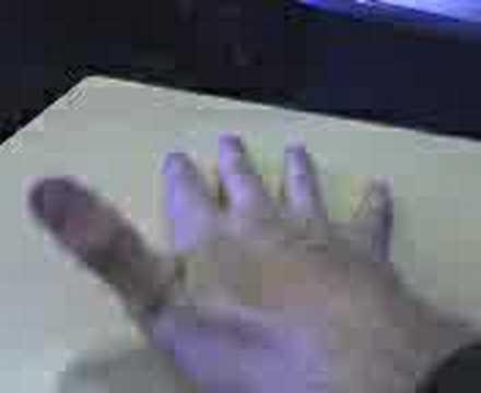 Breaking my thumb?
