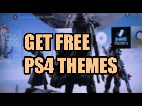 PS4: How to Change Background Themes