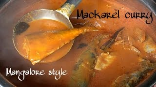 Bangude gassi Mangalore style | Mackerel curry recipe | bangda curry | Meen gassi Recipe
