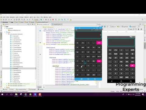 Beautiful Scientific Calculator App using Android Studio Tutorial