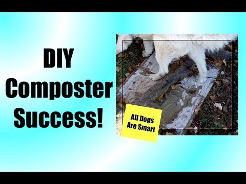DIY DOG POOP COMPOSTER - How It Works